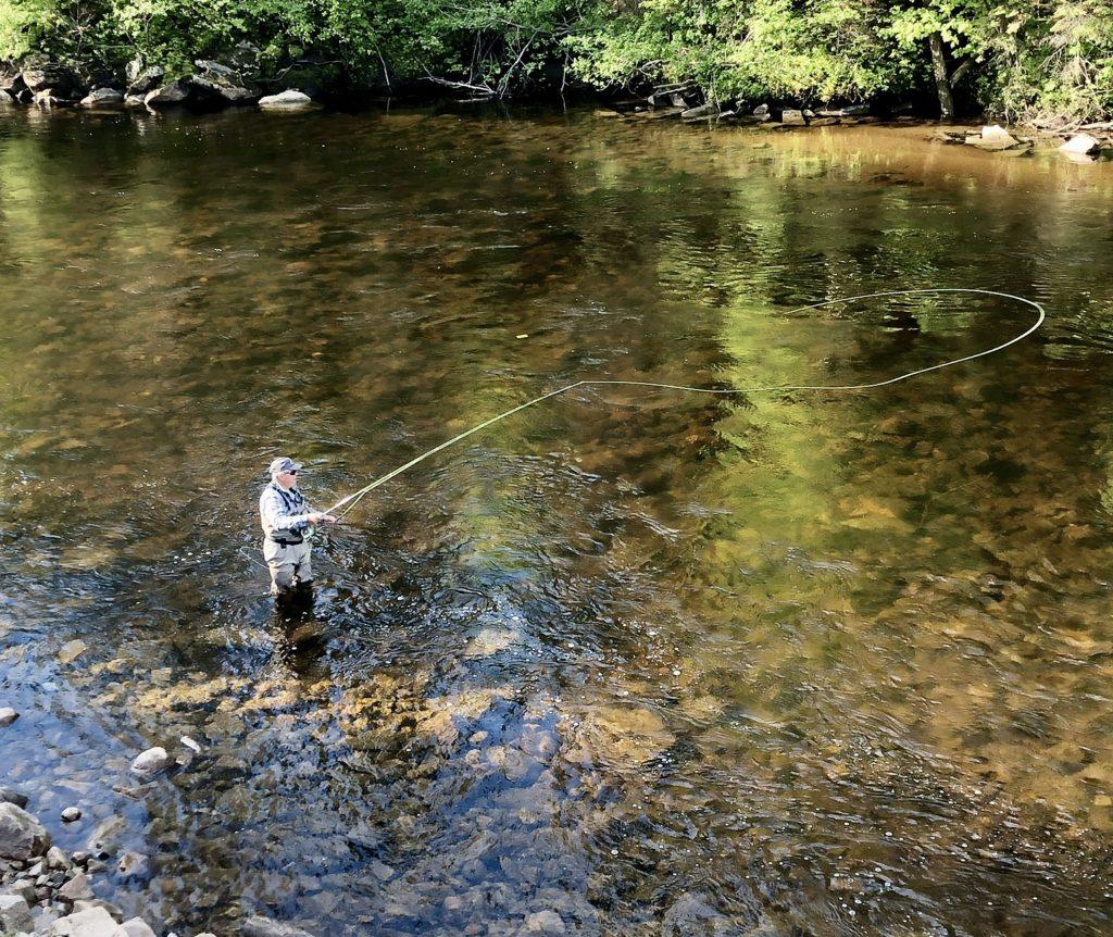 Pêche rivière Sainte-Marguerite