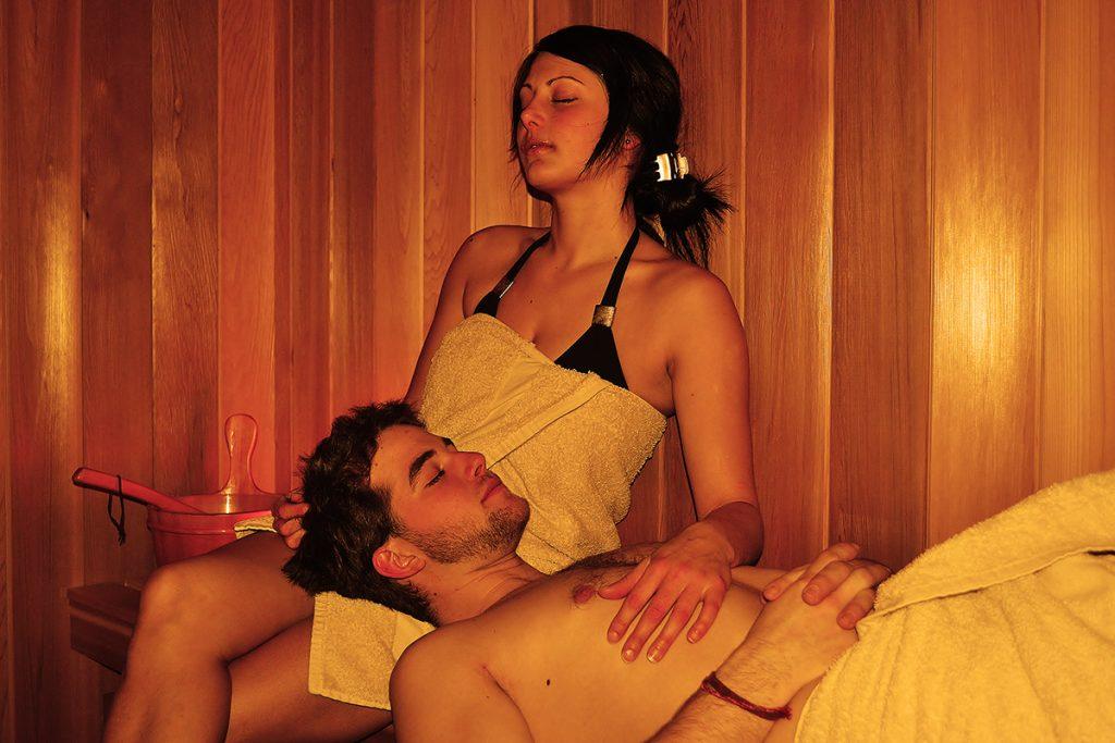 Sauna Centre de détente Ferme 5 Étoiles