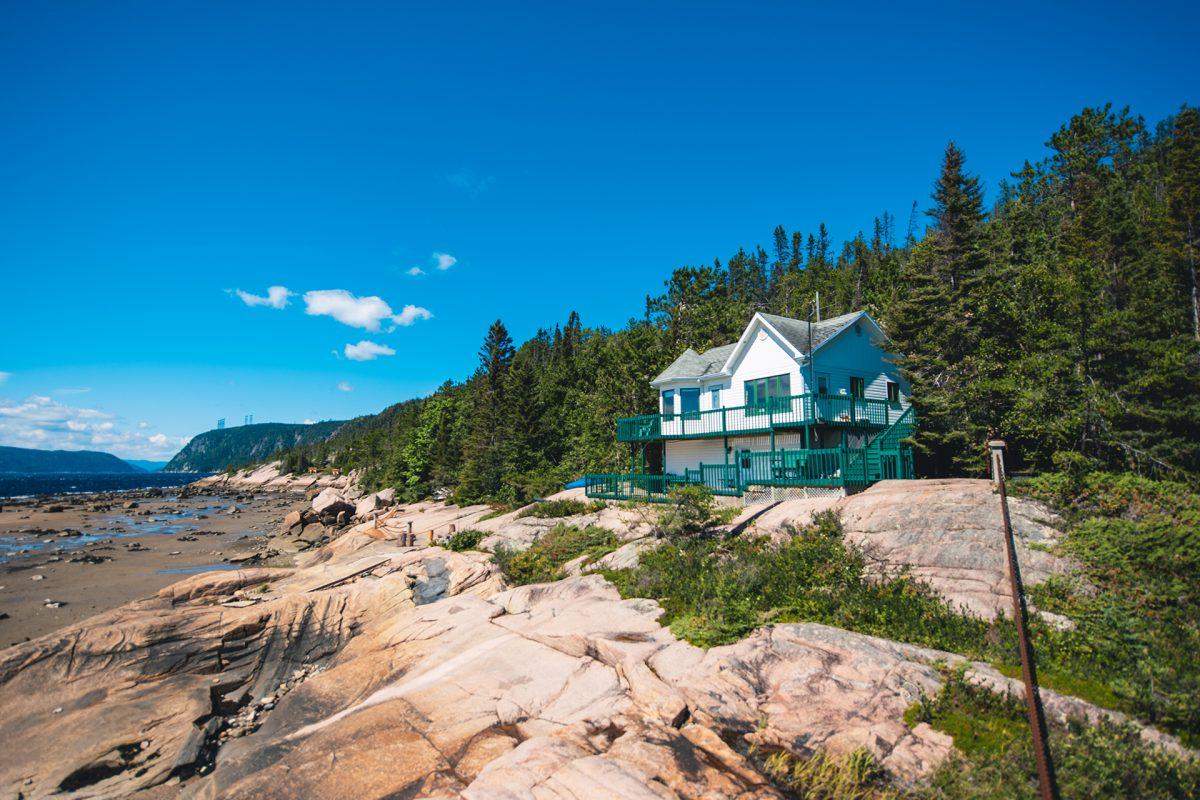 Hébergements en bordure du fjord Saguenay