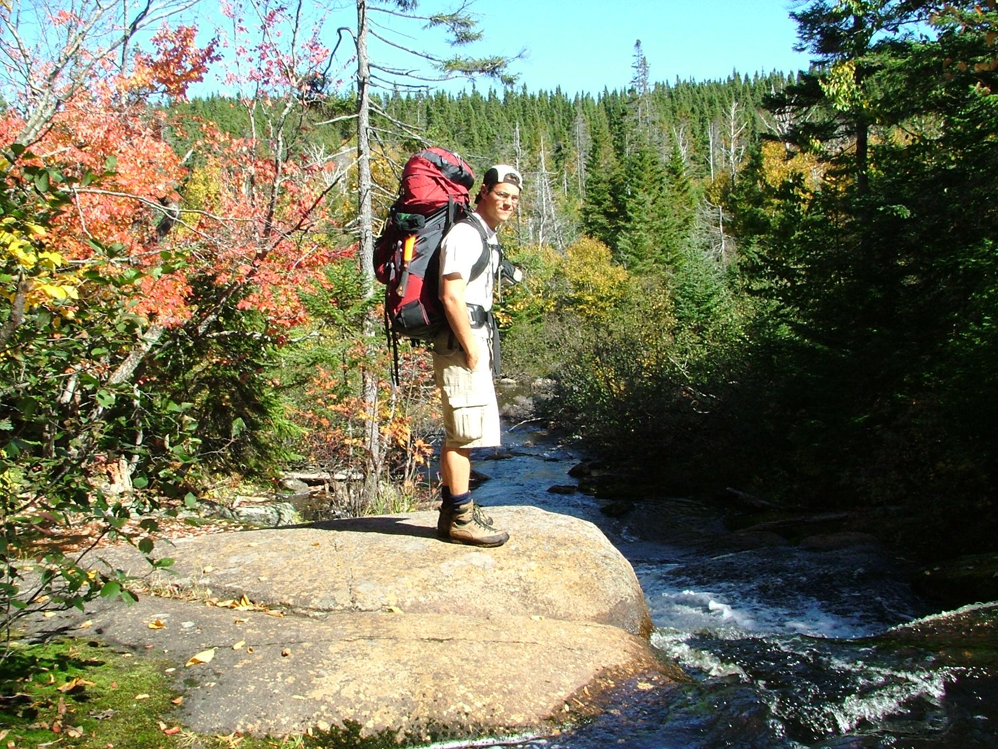Randonnée pédestre en automne